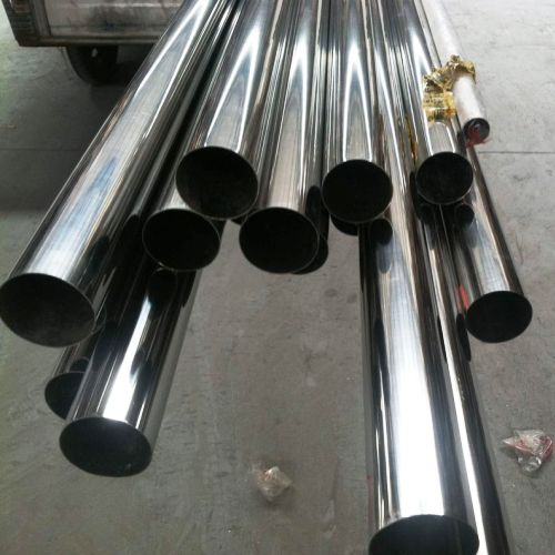 Stainless Steel A554 Polished 201, 304, 316 Pipes Factory