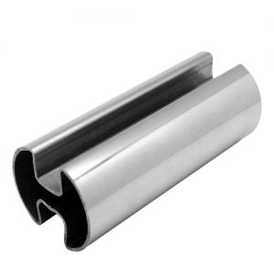 Stainless Steel Double Slot Round Tubes Suppliers, Dealers