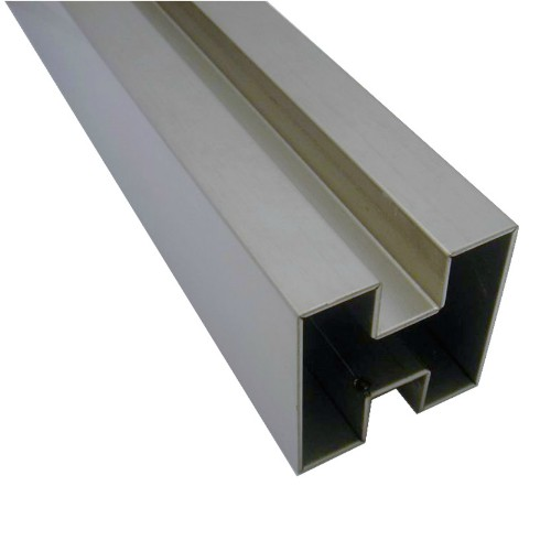Stainless Steel Double Slot Square Tubes Manufacturers, Factory