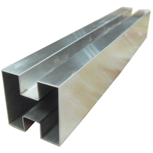 Stainless Steel Double Slot Square Tubes Suppliers, Dealers