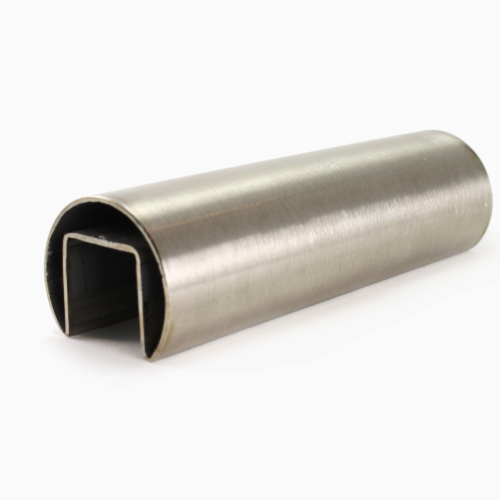 Stainless Steel Single Slot Round Pipe Supplier
