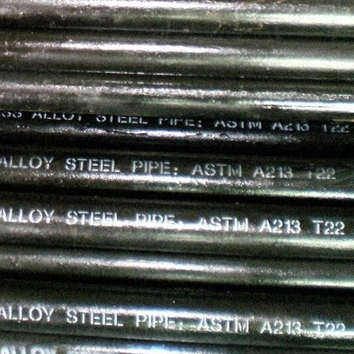ASTM A213 T11, T12, T22 Alloy Steel Seamless Tubes Manufacturers